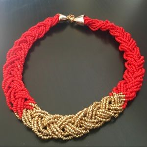 Jewelry - Beaded Braided Necklace